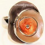 HANDGESCHILDERDE Ring - LAT012