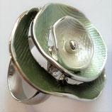 HANDGESCHILDERDE Ring - LAT104