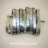 NOA - Aluminium Metaal Broche