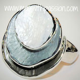HANDGESCHILDERDE Ring - LAT018