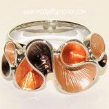HANDGESCHILDERDE Ring - LAT043