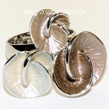 HANDGESCHILDERDE Ring - LAT047