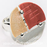 HANDGESCHILDERDE Ring - LAT073