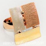 HANDGESCHILDERDE Ring - LAT078