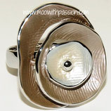 HANDGESCHILDERDE Ring - LAT013