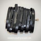 NOA - Aluminium Zwart Broch