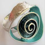 HANDGESCHILDERDE Ring - LAT086