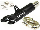 TOCE CBR1000RR 08-16 Razor Tip 3/4 Cat Delete