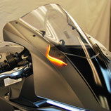 YZF-R1 15-18 Mirror Block Off Turn Signals
