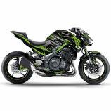 Z900 Z style Metalic Green Body Skin