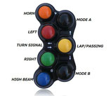 RACE SWITCH 7 BUTTON DUCATI 2 LH