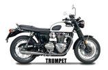 BONNEVILLE T120 / THRUXTON Slip-on TRUMPET