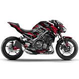 Z900 Z style Metalic Red Body Skin
