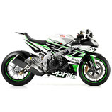 RSV4 Original Green body skin