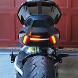 X-Diavel Rear Turn Signals Backrest