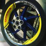 Wheel skin custom