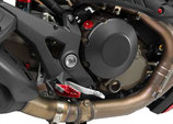 CNC RACING MONSTER 1200 CLUTCH COVER CARBON