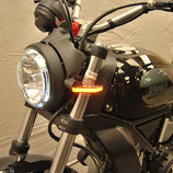 SCRAMBLER Cafe Racer/Sixty2 Front Turn Signals