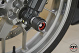 PROTECTION FRONT AXLE SLIDERS APRILIA RS250