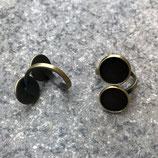 Doppelring Bronze 12mm