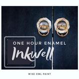 One Hour Enamel Inkwell