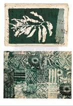 "redesign Motiv Transfer ""Algae Print"""