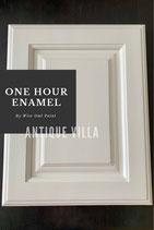 One Hour Enamel Paint Antique Villa