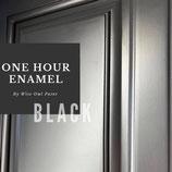 One Hour Enamel Paint Black