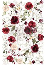 """redesign Motiv Transfer """"Midnight Floral"""""""
