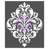 "redesign Schablone ""Large Damask"""