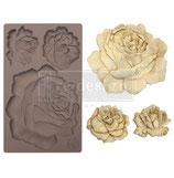 """redesign Motiv Silikonform """"Etruscan Rose"""""""