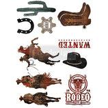 """VORBESTELLUNG! redesign Motiv Transfer """"Rodeo"""""""