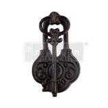 """redesign Gusseisen Türklopfer """"Ancient Key"""""""