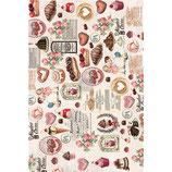 "redesign Mulberry Tissue Decoupage ""Super Decadent"""