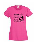 T-Shirt - Polterabend Damen