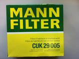 Innenraum Filter MANN