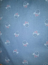 geblümter Baumwollstoff / flowered cotton fabric