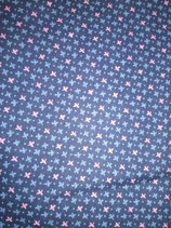 gemusterter Baumwollstoff / patterned cotton fabric