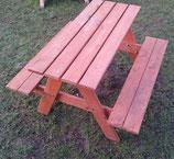 Picknick - Garnitur - Biergarnitur Massivholz für Kinder