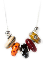 collier CANDI rouge