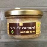 Pâté de canard au Foie gras 80 g