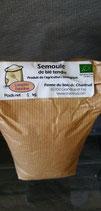 Semoule blé tendre complète extra fine