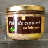 Pâte de Canard au Foie Gras 180 g