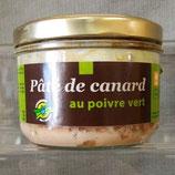 Pâte de Canard au Poivre Vert 180 g