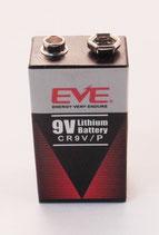 9V Lithium Blockbatterie