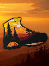 HIKING SHOE SUNSET - Outdoor Patch