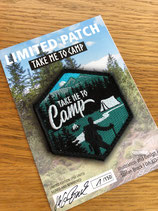 TAKE ME TO CAMP - Outdoor Patch