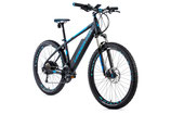 "E-bike MTB 27,5"" Leader Fox SWAN,2018-2 17,5"" GRAU MATT/GRÜN"