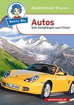 Benny blu: Autos - vom Dampfwagen zum Flitzer
