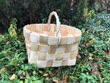 Плетеная корзина из сосновой щепы №3